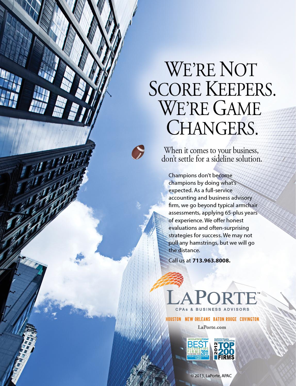 4. LaPorte-GameChanger Ad