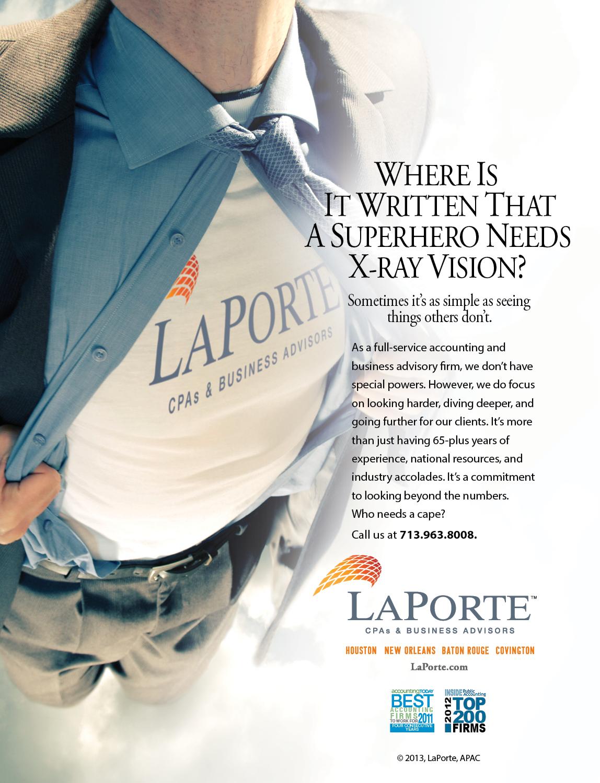 5. LaPorte-Superhero Ad